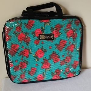 Betsey Johnson padded laptop bag with handles